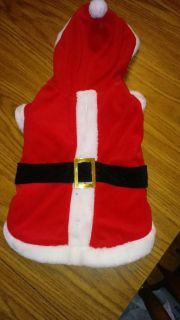 Santa Outfit for dogs Size Medium