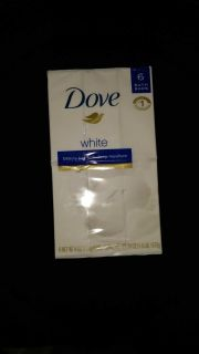 Dove White 6 Bar Pack of Bath Soap - Offer 1 of 4