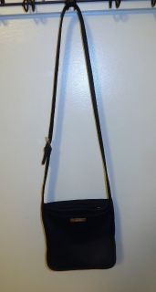 Nine West Black Nylon Cross Body Bag