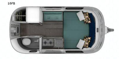 2019 Airstream Rv Nest 16FB