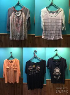 Various clothes items