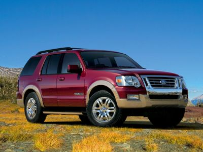 2008 Ford Explorer Eddie Bauer (Red)