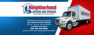 Neighborhood Moving and Storage