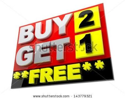 All phone case are buy 2 get 1 free