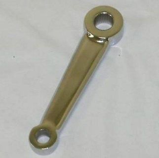 Purchase Pitman Arm CHROME for Chevy Vega Manual Steering Boxes NEW motorcycle in Winder, Georgia, US, for US $36.00