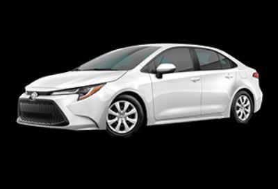 2020 Toyota Corolla LE (Super White)