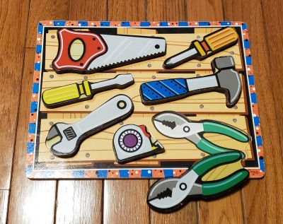 Melissa and Doug Tools Puzzle