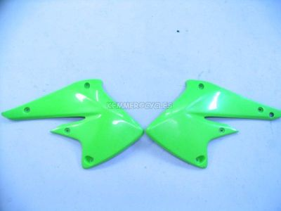 Sell 2004 KAWASAKI KX250F KX 250F 250 RADIATOR SHROUD SET motorcycle in Nicholasville, Kentucky, US, for US $34.99