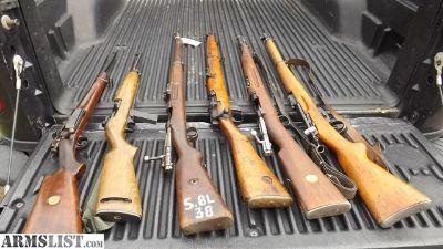 For Sale/Trade: 30-40 Krag m1 .22 gew 98 303 british swedish mauser k31 swiss