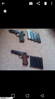 For Sale: Pair of 9mm Star Firearms Modelo B Pistols