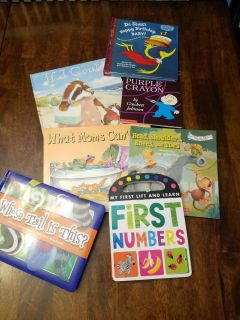 Lot of children books. All in great condition!