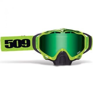 Purchase 509 Sinister X5 Goggles - Lime - Green Mirror Yellow Tint Lens - 509-X5GOG-15-LI motorcycle in Sauk Centre, Minnesota, United States, for US $89.95