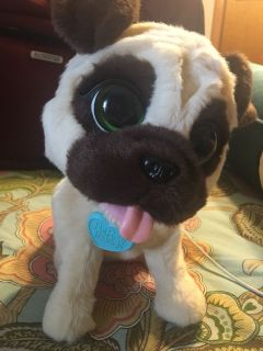 FurReal Friends pug C/P No Holds