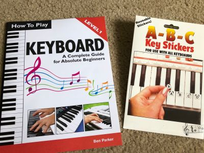 How to Play a Keyboard/Key Stickers