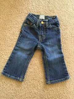 Children's Place girls jeans...size 12m