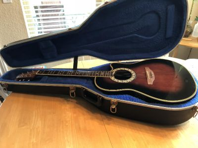 Ovation Celebrity acoustic/electric guitar
