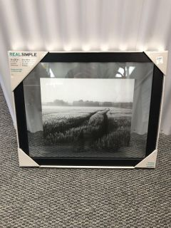 CLEARANCE ITEM!! Real Simple 16 x 20 Wood Float Wall Frame in Black-NEW