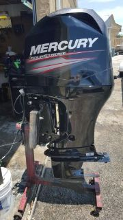 Sell Mercury 90 HP 4 Stroke Outboard Motor 2013 warranty 398 hours 90hp WE SHIP motorcycle in Marco Island, Florida, United States, for US $6,000.00