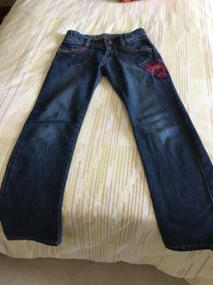 Girls embroidered Jeans (Catimini) size 8