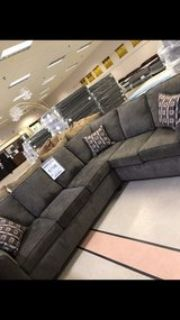 Brand New Sectional and Ottoman