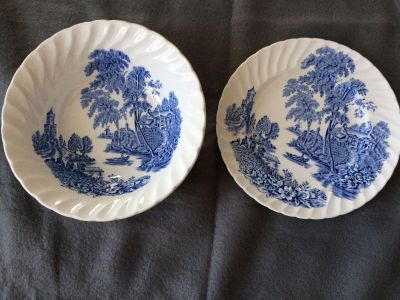 """7"""" decorative bowl and plate"""