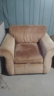 FREE!! Tan oversized chair