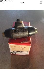 Pair New German FTE FAG wheel cylinders 331611051A