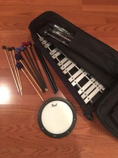 Bell and drum pad kit