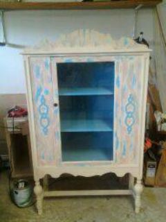 ANTIQUE FURNITURE PIECE COMPLETELY REFURBISHED FOR SALE (ARMOIR)