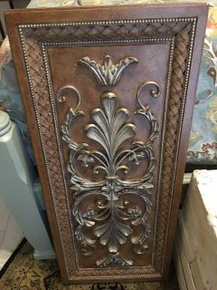 Baroque Relief Style Wall Decor