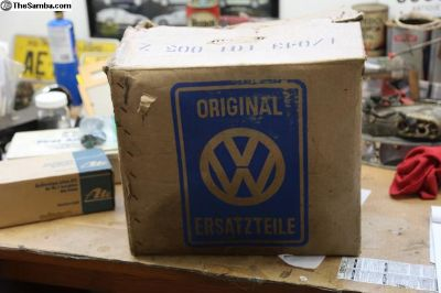 NOS VW AS41 Engine Case, Mexico, T1, New In Box!