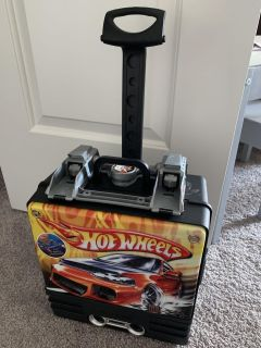 HOT WHEELS ROLLING CASE for CARS LAUNCH & RACEVINTAGE