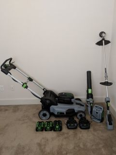 EGO lawn equipment ( fully electric )