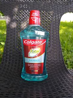 New: Colgate Total Gum Health Alcohol Free Mouth Wash, 33.8 fl oz, Clean Mint -> $3.