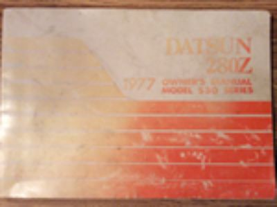 Parts For Sale: Datsun 280Z Original Factory Owner's Manual