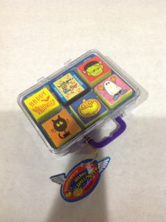 """Six-2"""" Rubber Stamps for Halloween"""