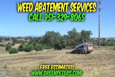 Affordable Weed Abatement Service Rialto. Call Us