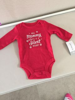 New with tags Carter s unisex Christmas onesie newborn size PPU in Cypress