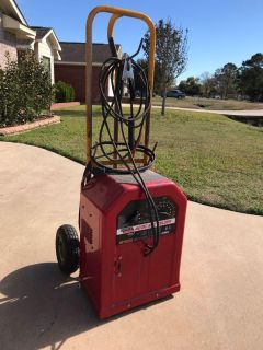 Lincoln AC/DC welding machine with cart/dolly