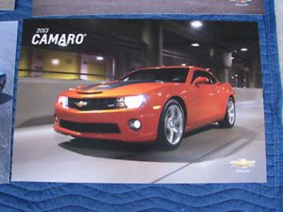 Purchase NOS 2013 CAMARO DEALER SHOWROOM POSTER SET CORVETTE SS IMPALA VOLT MALIBU HEVY motorcycle in Union Grove, Wisconsin, United States, for US $39.95