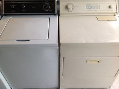 $250, Washer and dryer