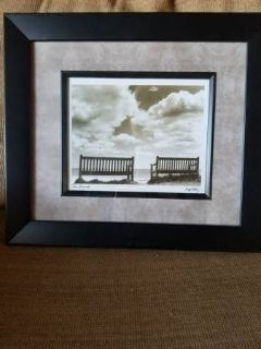 """Two Friends"" framed new print"