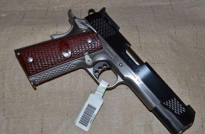 "NIB KIMBER GRAND RAPTOR II 45ACP 5"" CASE"