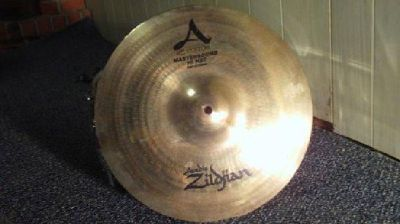 $225 13 inch Zildjian A Custom Mastersound Hi-Hat Pair