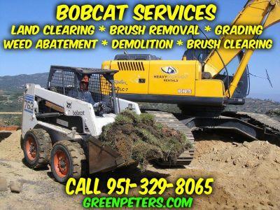Professional Bobcat Services Murrieta