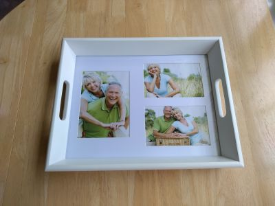 Brand new in box photo Tray