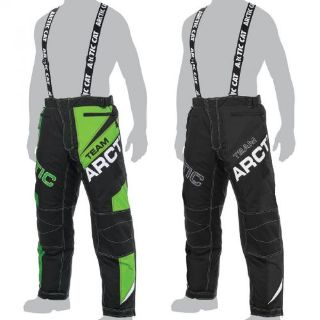 Purchase Arctic Cat Men's Team Arctic Insulated Snow Pants Snowmobile Bibs - Green, Black motorcycle in Sauk Centre, Minnesota, United States, for US $236.99