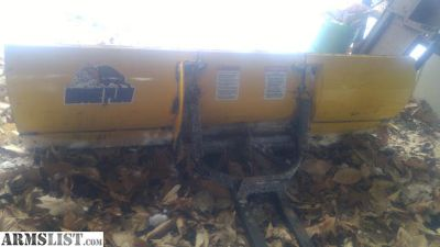 For Sale/Trade: moose plow