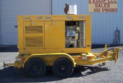 Kohler 150 KW Portable Generator**John Deere Diesel**