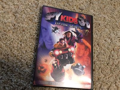 Spy Kids 3D Game Over DVD